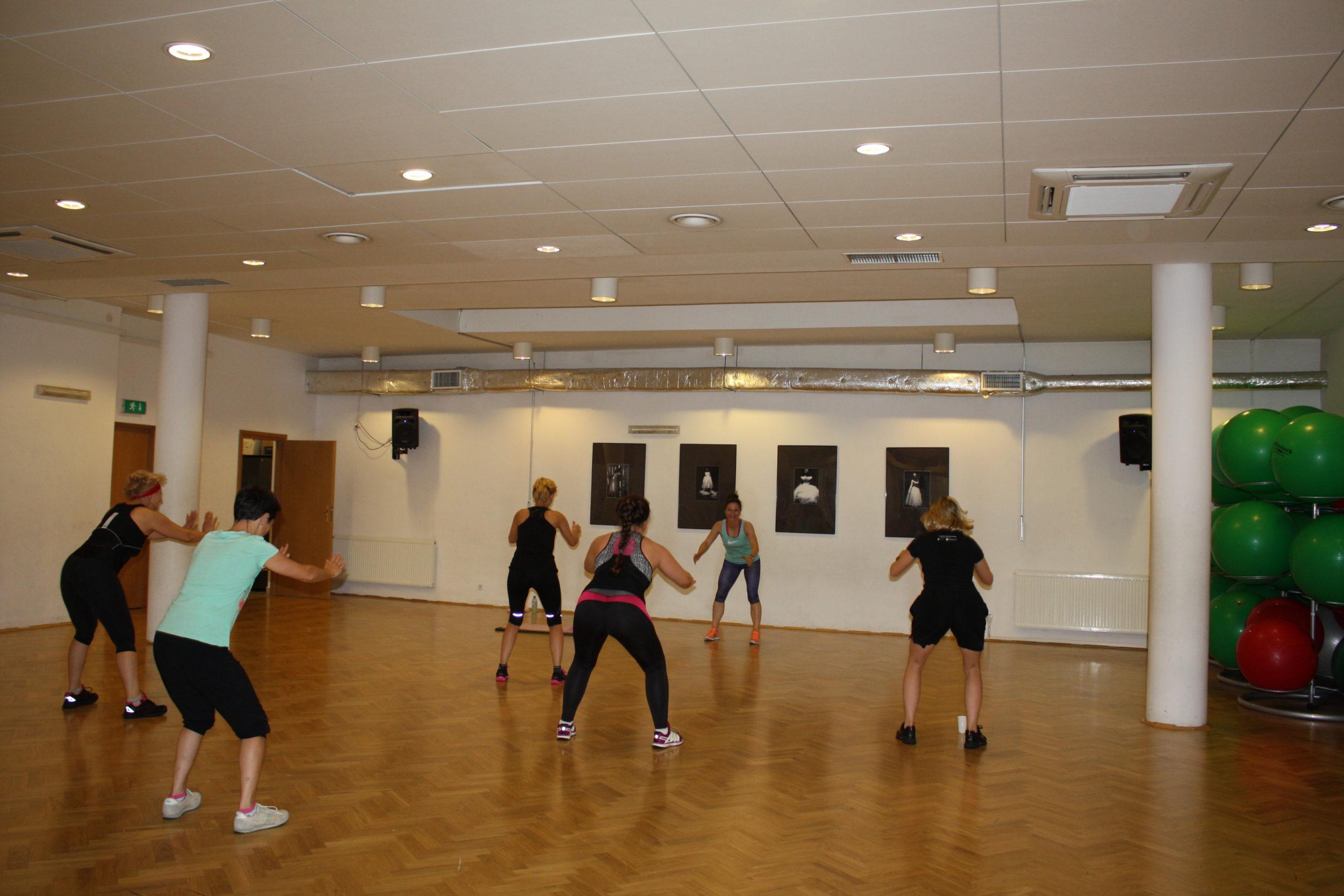 Kobiety w trakcie ćwiczeń