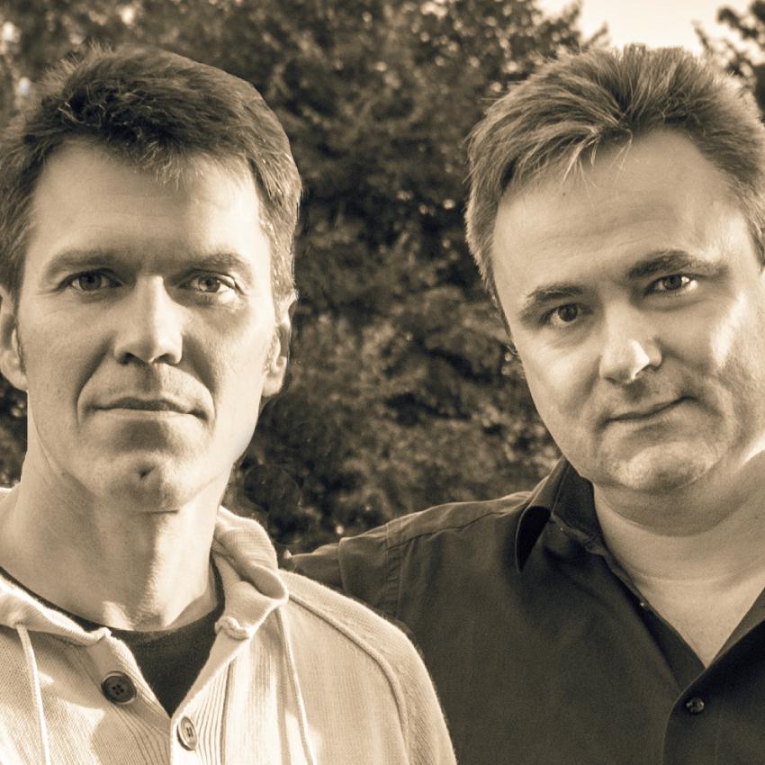 2 mężczyzn