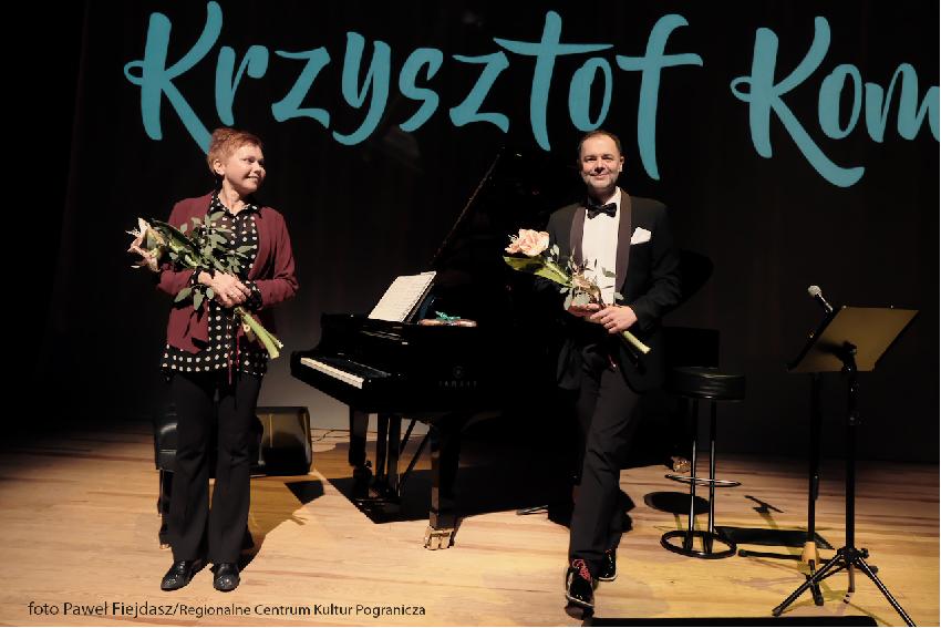 wspólnie Lena Ledoff i Adam Rymarz