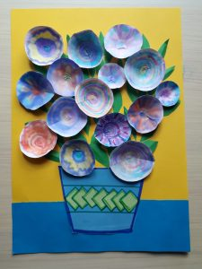 wazon zkwiatami