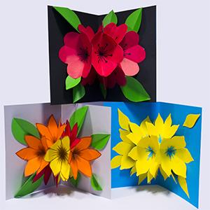 laurki zkwiatkami