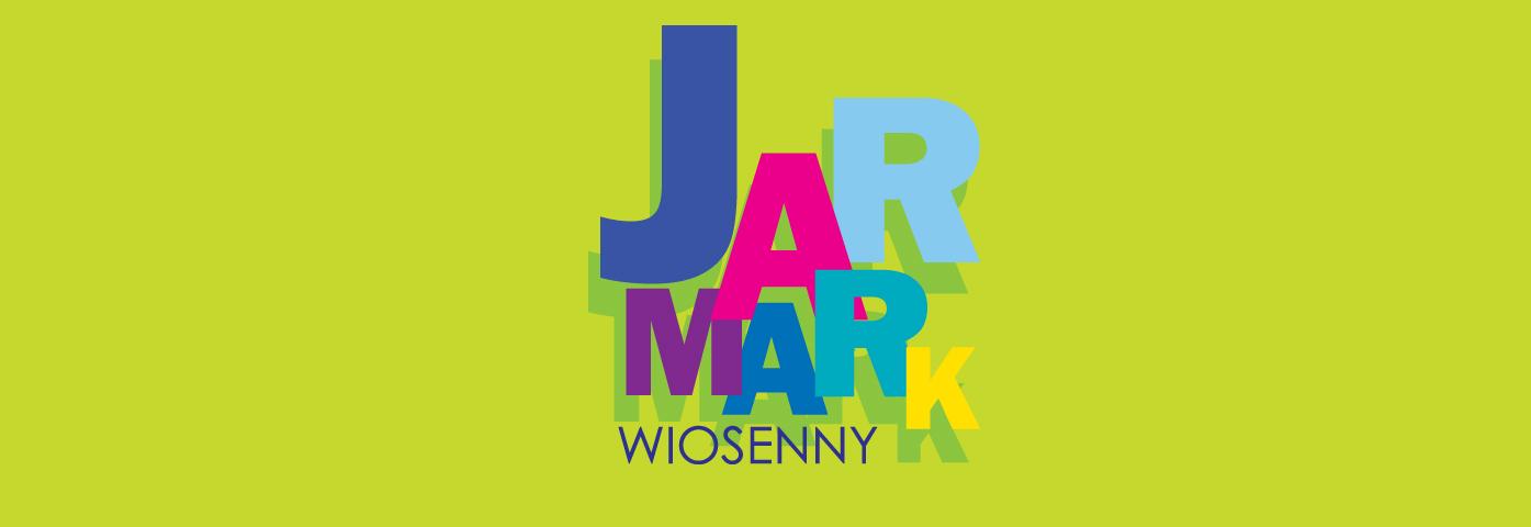 kolorowy napis Jarmark Wiosenny