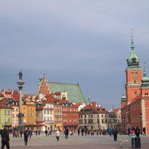 Starówka Wasrszawska, budynki i plac